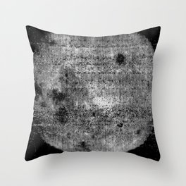 1st Image of the Far Side of the Moon Throw Pillow