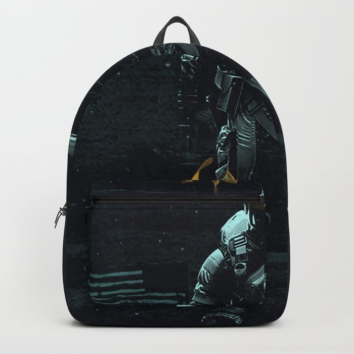 Space goldfish Backpack