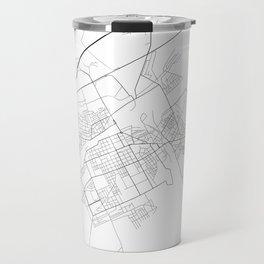 Minimal City Maps - Map Of Baranovichi, Belarus. Travel Mug