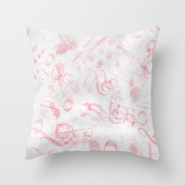 DT MUSIC 1 Throw Pillow