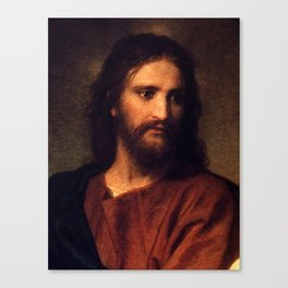 Jesus Christ by Heinrich Hofmann Canvas Print