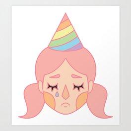 Pink Pity Party Art Print