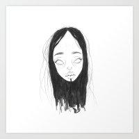 Space Babe #36 Art Print