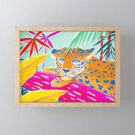Vibrant Jungle Framed Mini Art Print