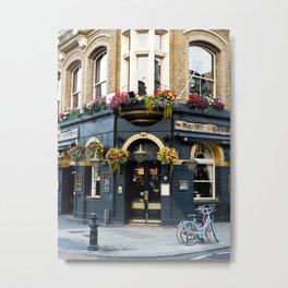 English Pub Metal Print