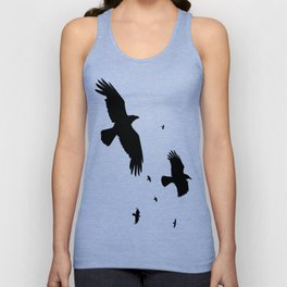 A Murder Of Crows Unisex Tank Top