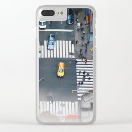 159. Mini City, New York Clear iPhone Case