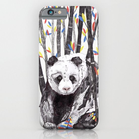 Panda Bear // Endangered Animals iPhone & iPod Case