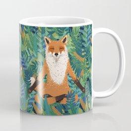 Fox Yoga Coffee Mug