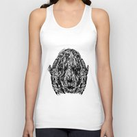 anxiety Tank Tops featuring Anxiety by Ryan Bussard