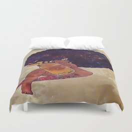 Melanin Queen Duvet Cover