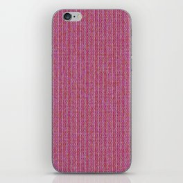 Pink Roses in Anzures 1 Knit 2 iPhone Skin