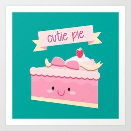 Cute pie Art Print