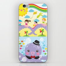 mr. octopus' bridge iPhone & iPod Skin