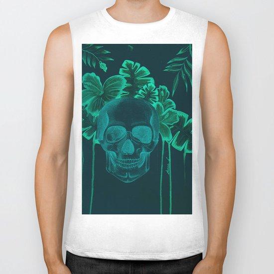 Skull jungle Biker Tank