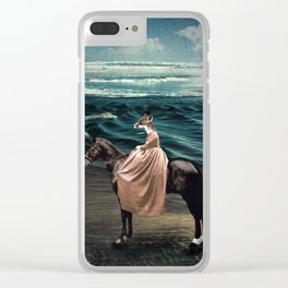 The Fox and the Sea Clear iPhone Case