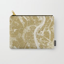 Cologne map gold Carry-All Pouch