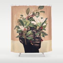 Birds are my Real Origin Shower Curtain