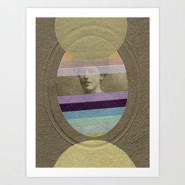 A Quick Look Art Print