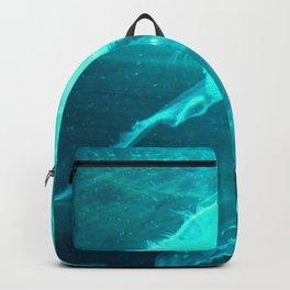 Blue Jellyfish Backpack