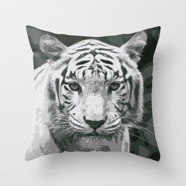 Untamed Beauty Throw Pillow