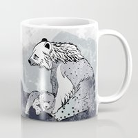 nordic Mugs featuring Nordic Bears by Pencil Studio