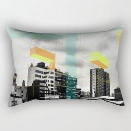Architecture never dies Rectangular Pillow