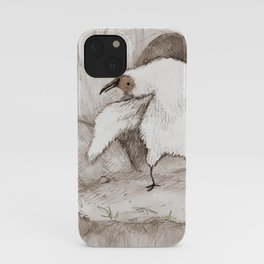 Vulture Chick iPhone Case