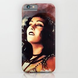 Gloria Swanson, Vintage Actress iPhone Case