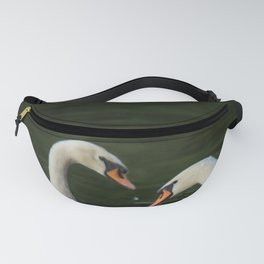 SWANS IN LOVE Fanny Pack