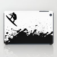 surfer iPad Cases featuring Surfer by Emir Simsek