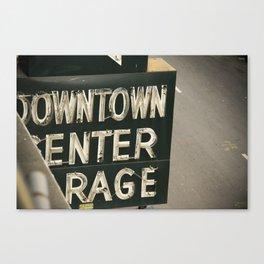 enter rage Canvas Print