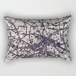 Echoes (into the wood) Rectangular Pillow