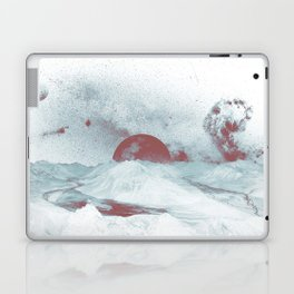 Pink Moon Mountain Laptop & iPad Skin