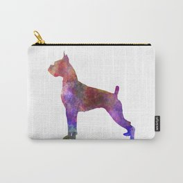 Boxer in watercolor Carry-All Pouch