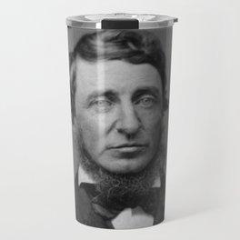 Benjamin Maxham - portrait of Henry David Thoreau Travel Mug