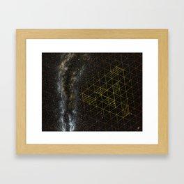 Galaxometry Framed Art Print