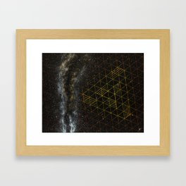 Galaxometry Framed Art Print