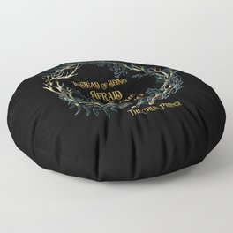Instead of being afraid, I could become something to fear. The Cruel Prince Floor Pillow