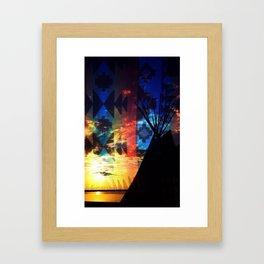 TIPI 1 Framed Art Print
