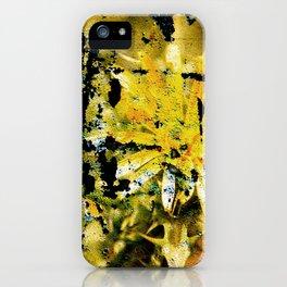 Yellow Thistle iPhone Case