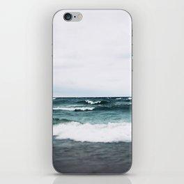 Turquoise Sea #3 iPhone Skin