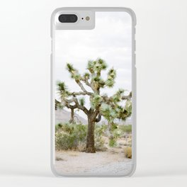 Joshua Tree Clear iPhone Case