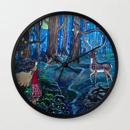Magic at Midnight Wall Clock