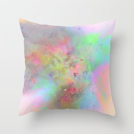 Everything is nothing 19 (therefore it was beautiful) Throw Pillow