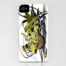 3d graffiti - soul iPhone (4, 4s) Slim Case