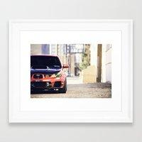 subaru Framed Art Prints featuring Subaru WRX by mhansphotography