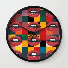 Twelve Mouths Wall Clock