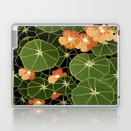 Tropaeolum flowers Laptop & iPad Skin