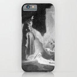 Rembrandt - Lazarus awakens (copy) iPhone Case